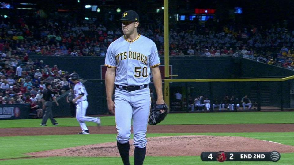 Taillon strands the bases loaded