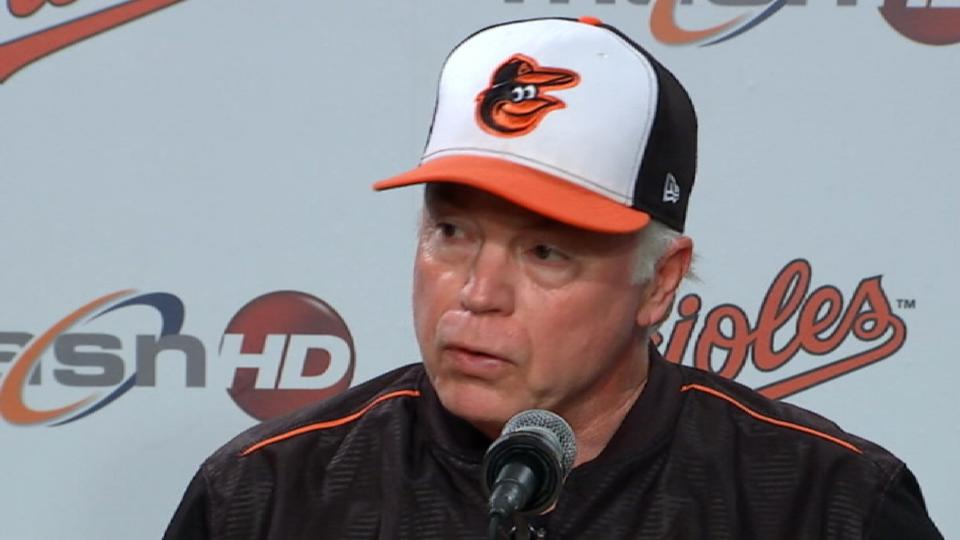 Showalter on the 5-1 loss