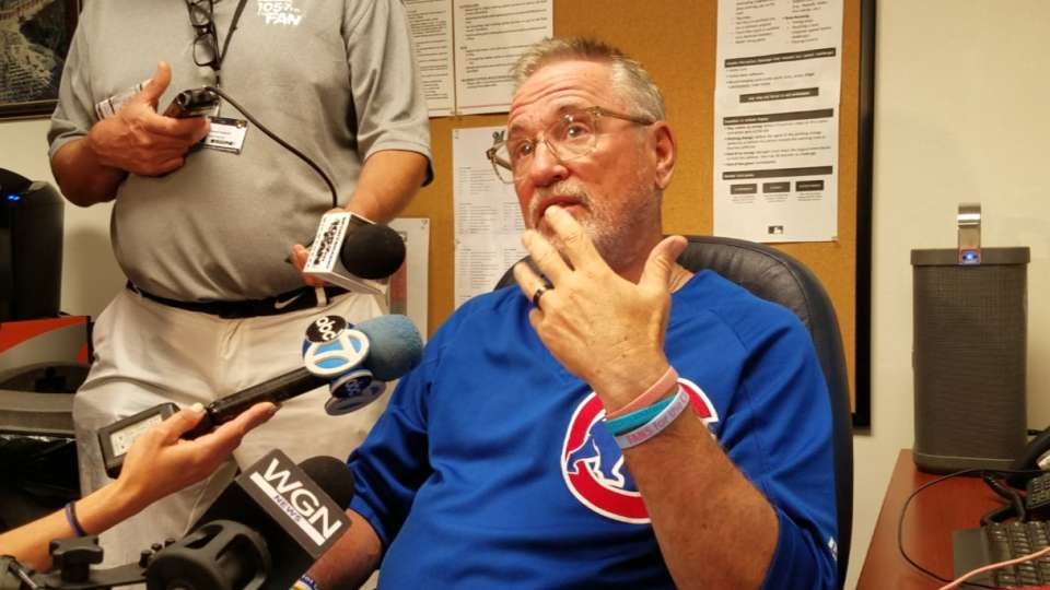 Maddon on series loss to Brewers