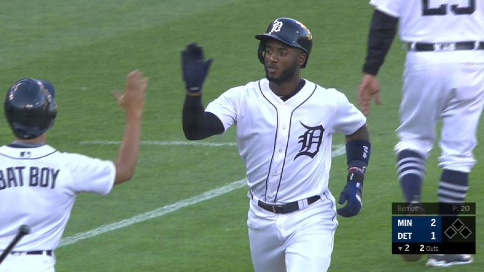 Goodrum's solo home run