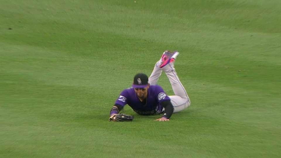 CarGo's athletic catch