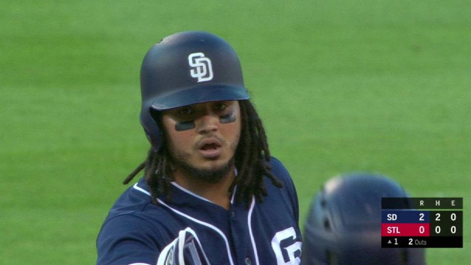 Galvis' 2-run double in the 1st