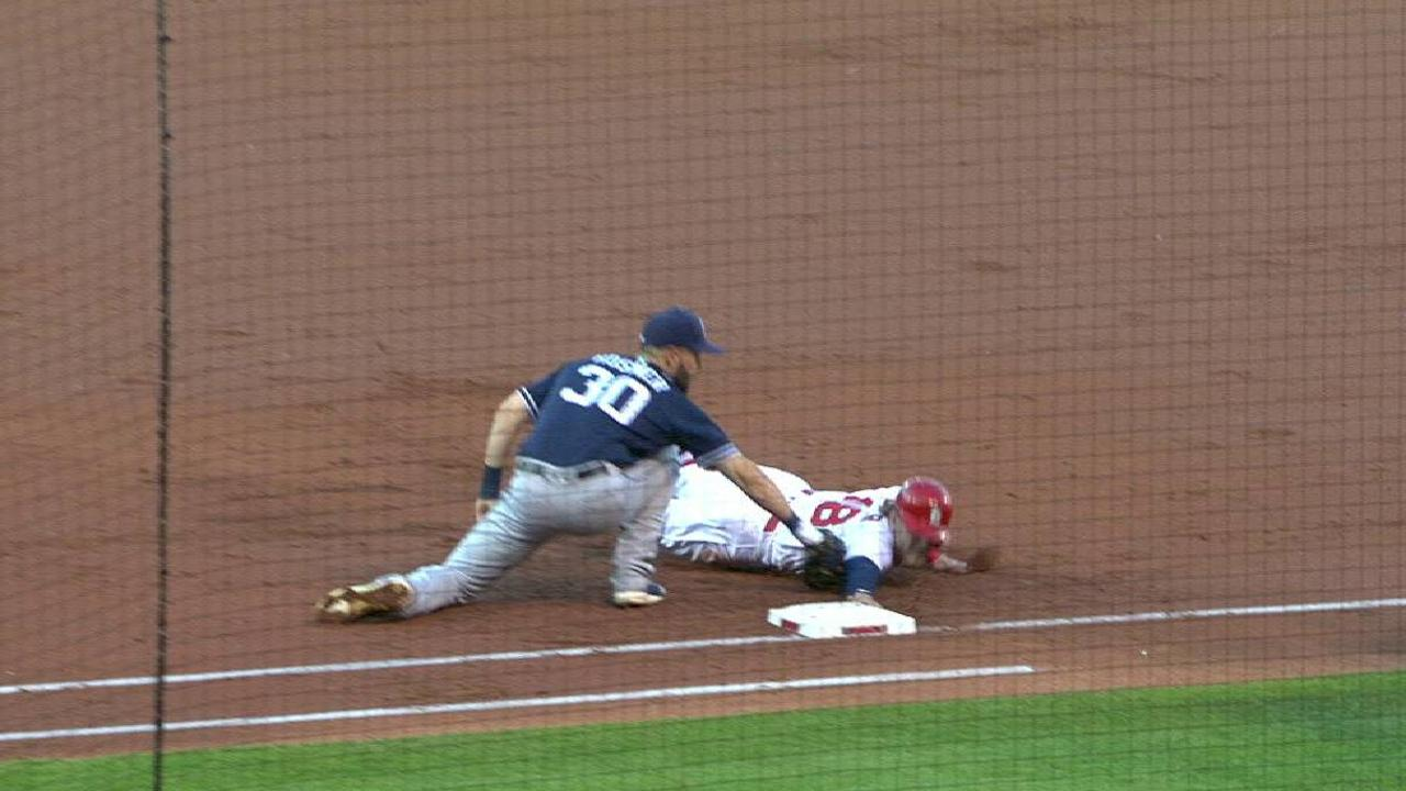 Lefty pickoff move to second base in dating