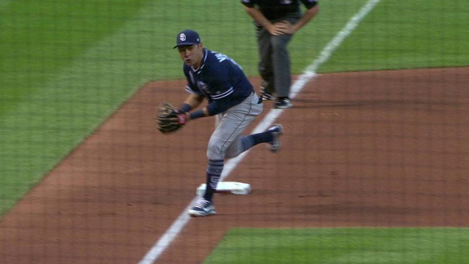 Villanueva's strong throw
