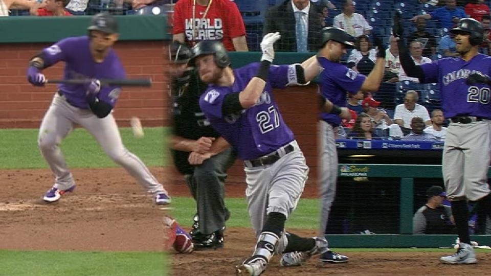Rockies rally for 5 in the 4th