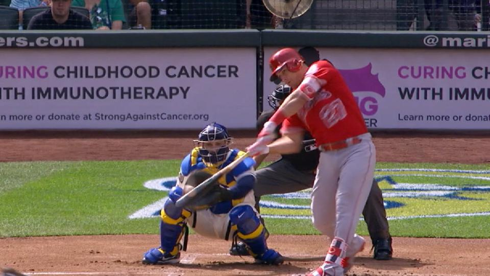 Trout's 20 Safeco homers