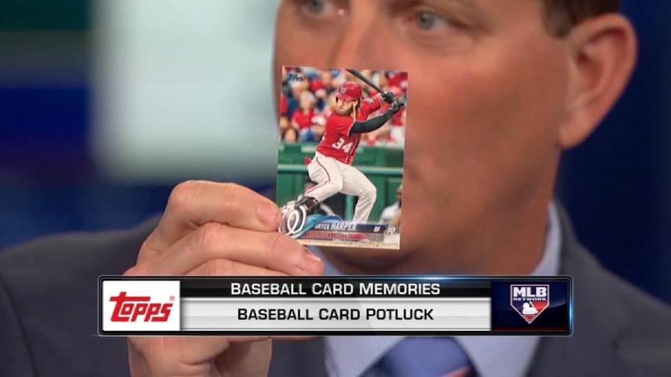 MLB Tonight: Topps Card Potluck