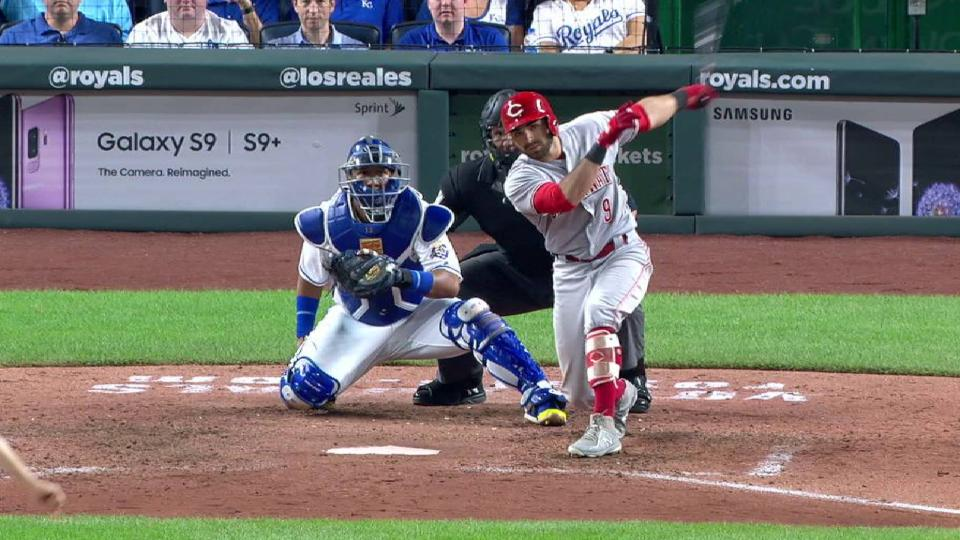 Peraza's RBI single