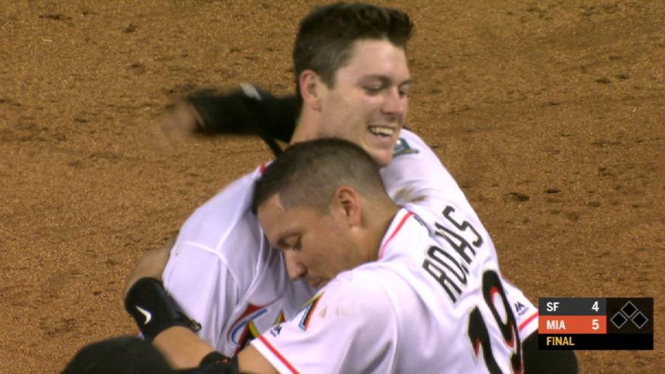 Anderson's walk-off sac fly