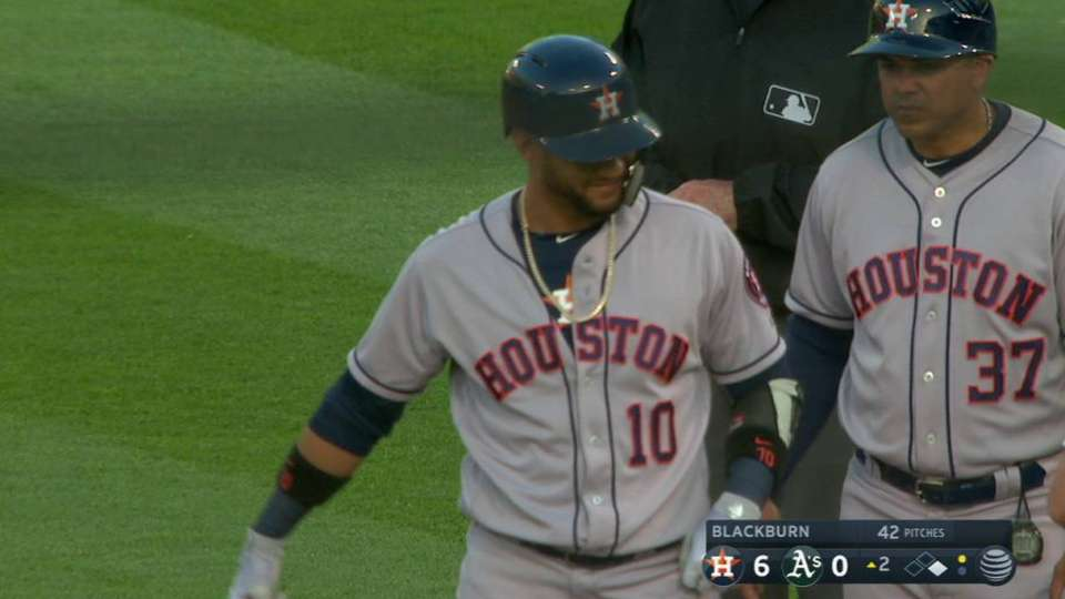 Gurriel records his 3rd RBI
