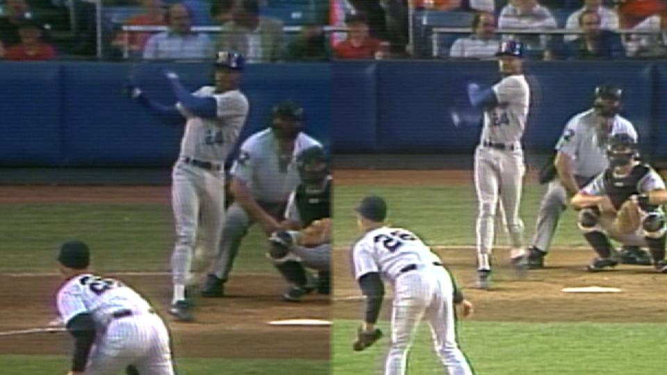 Griffey's 2 HRs as teen in Bronx
