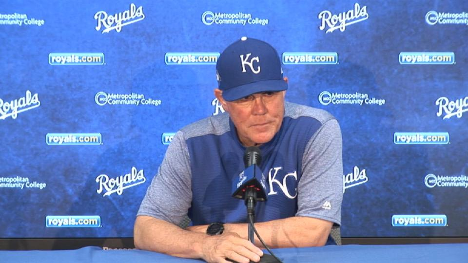 Yost on 7-0 loss to Reds