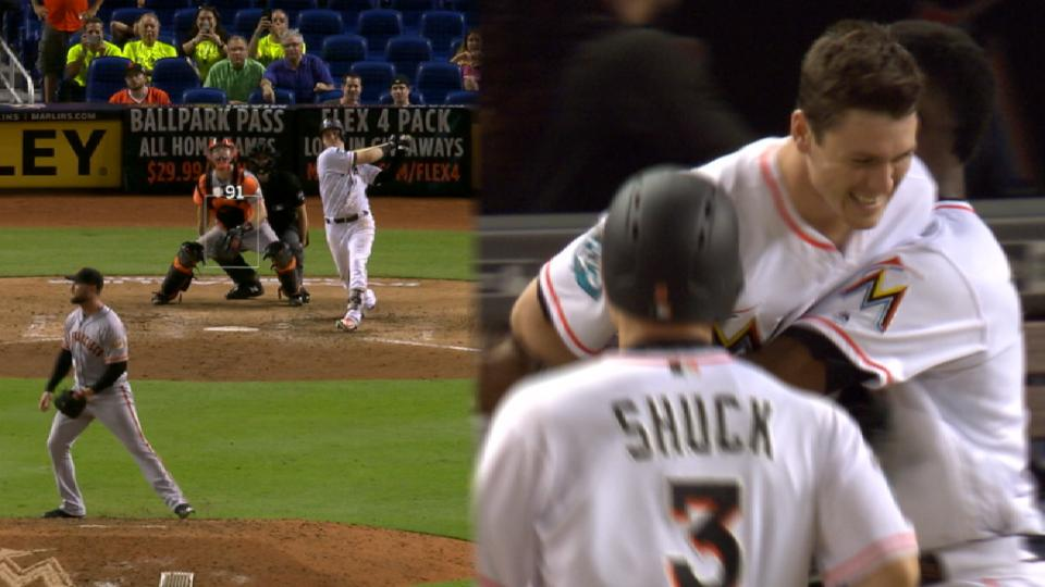 Marlins win it in the 9th