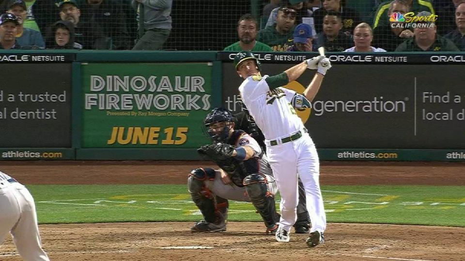 Piscotty's mammoth 3-run homer