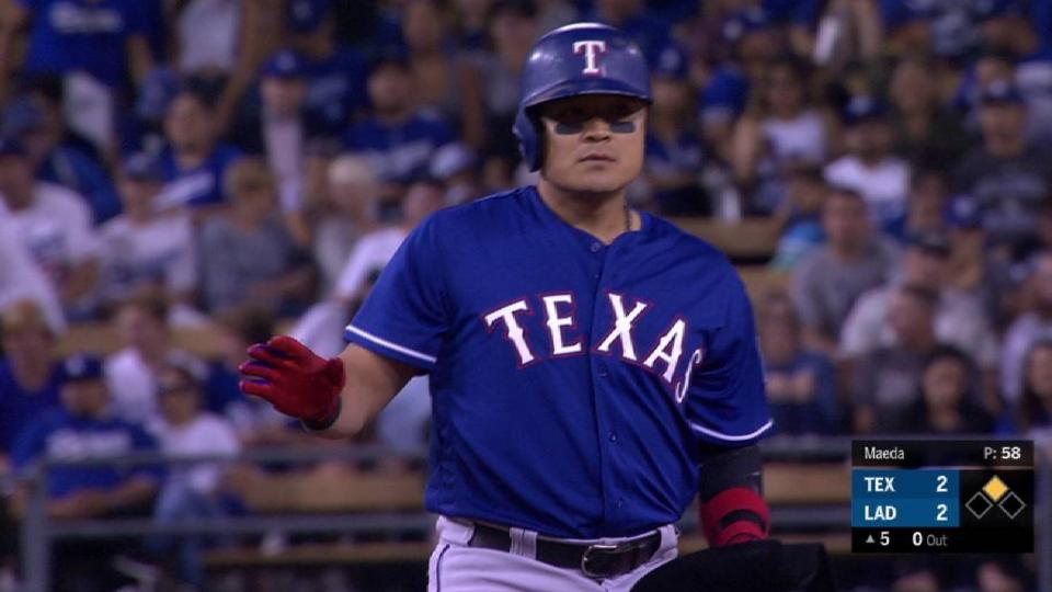 Choo doubles after review