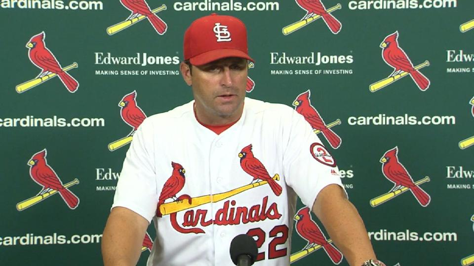 Matheny on 4-2 defeat at home