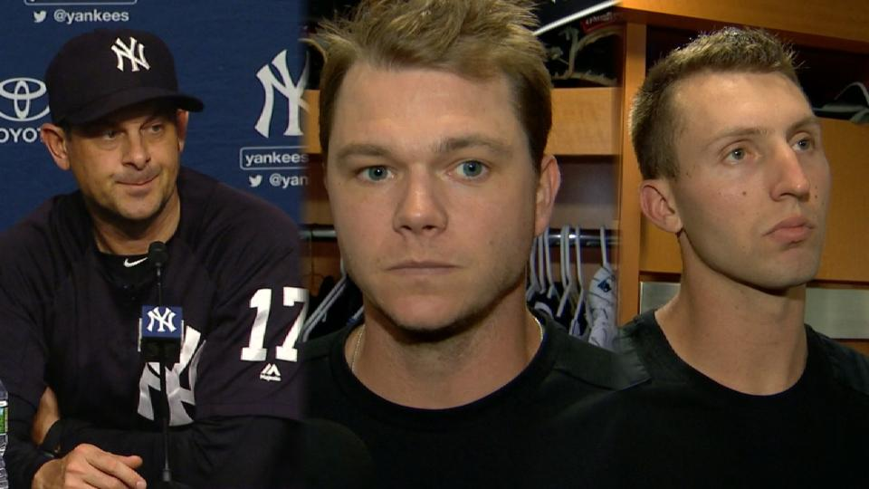 Yankees on loss to Nationals