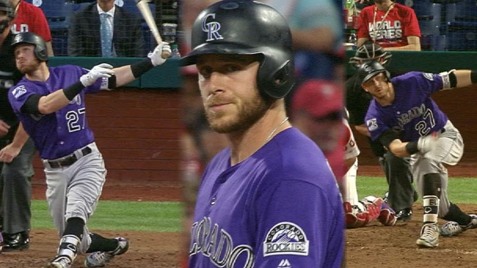 Story leads Rox over Phillies