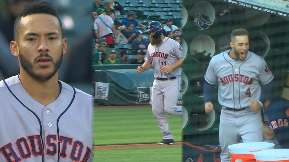 Astros' monster 7-run inning