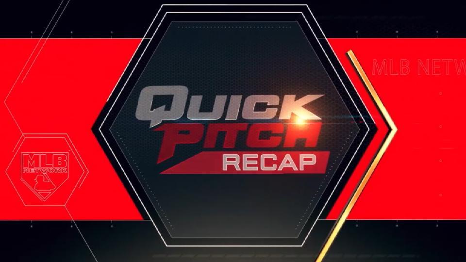 Quick Pitch Recap: 6/13/18