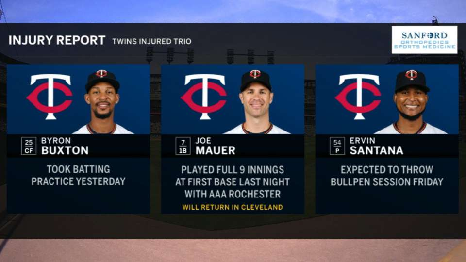 Twins' broadcast on injuries