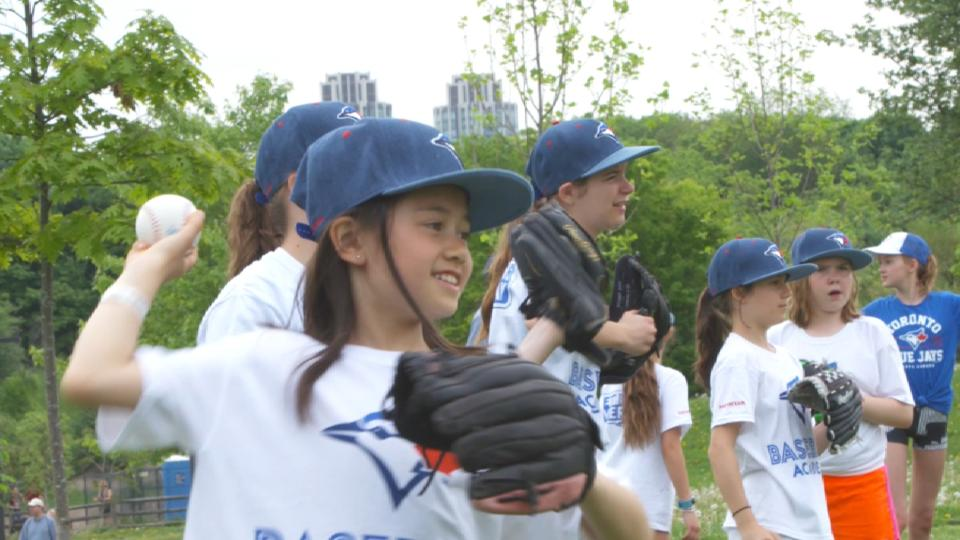 Baseball Academy Girls Clinic