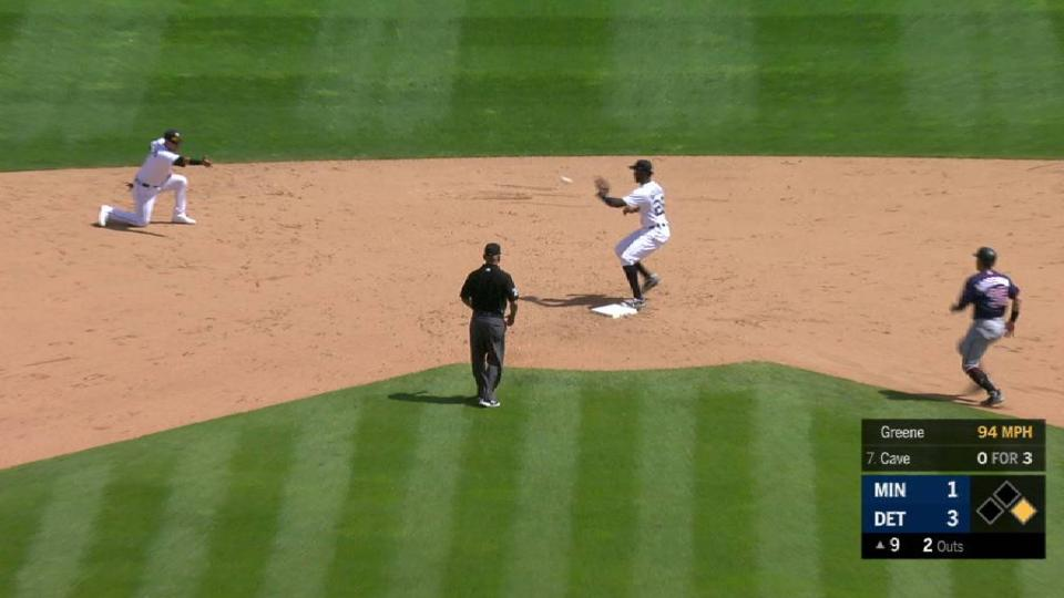 Greene notches the save