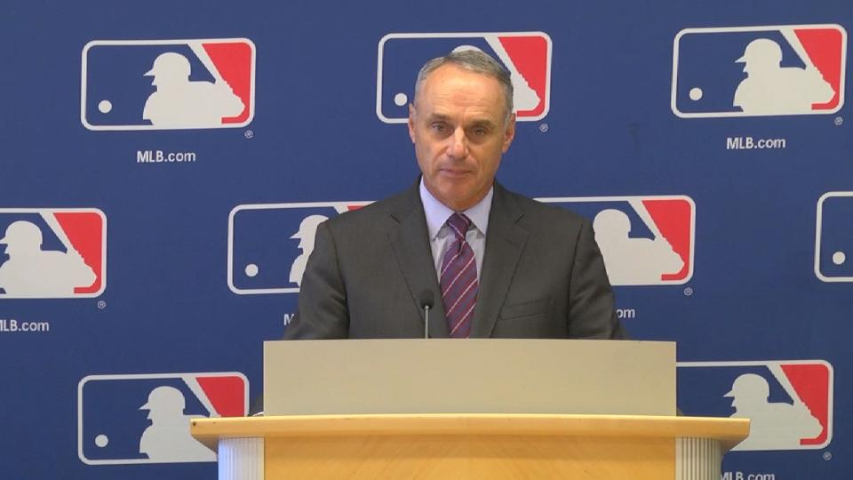 Manfred on pace, shifts, DH