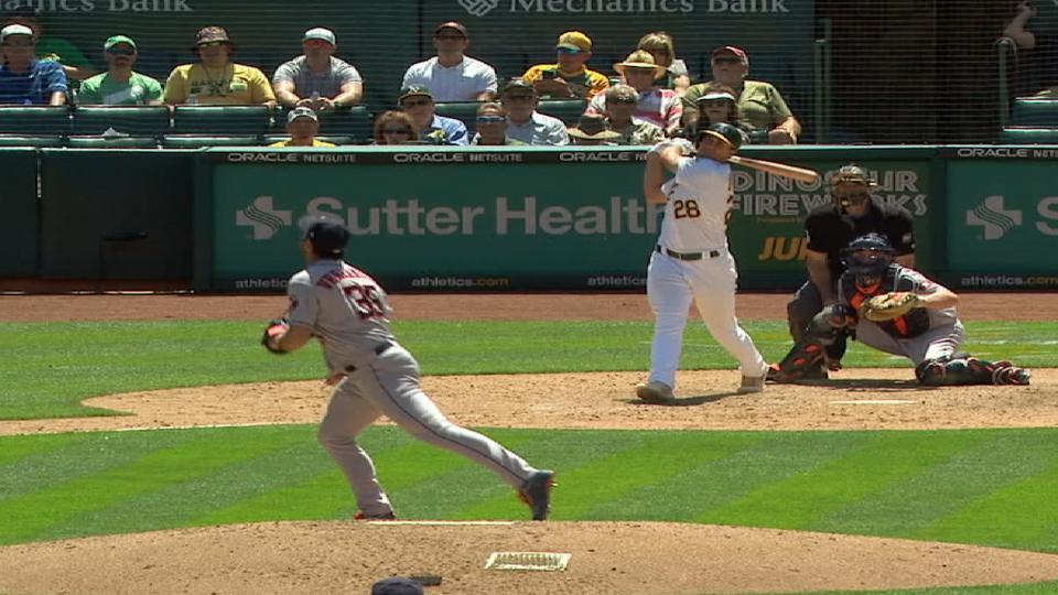 Olson's 2-run home run