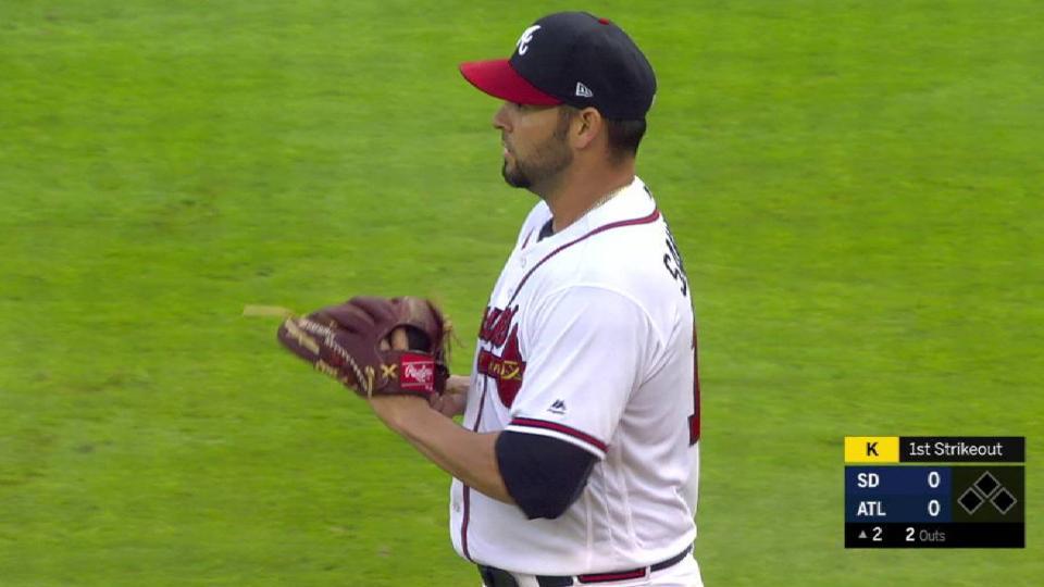 Sanchez strikes out Reyes