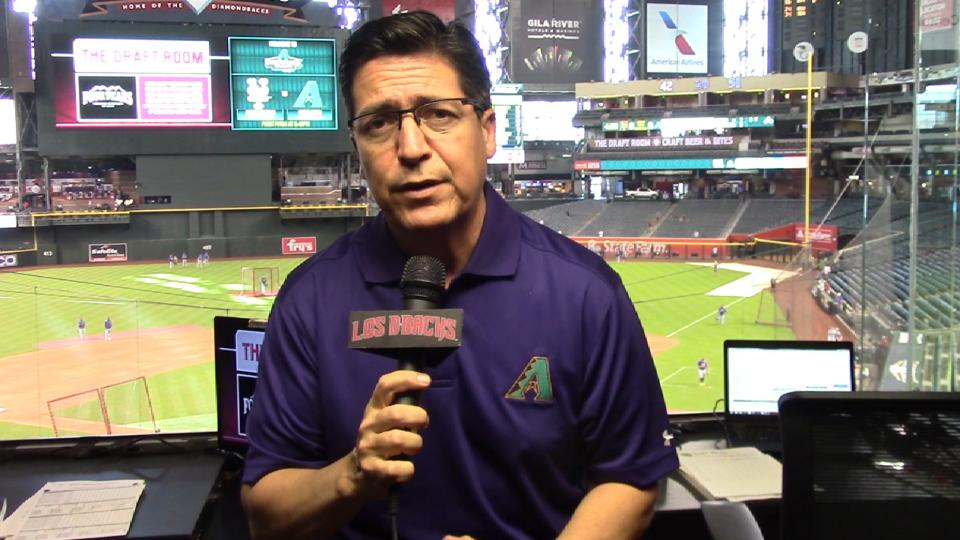 Soria analiza D-backs-Mets