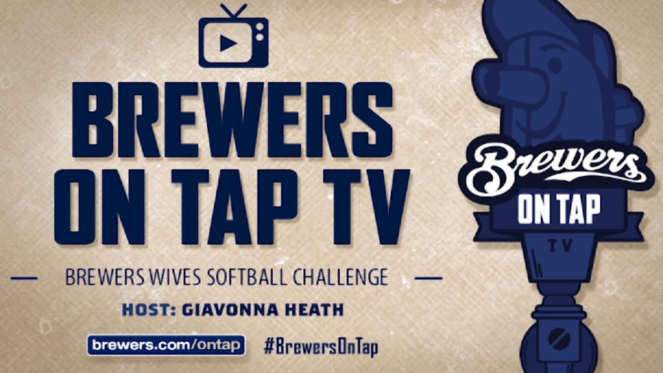 Brewers-Cubs Wives Softball game