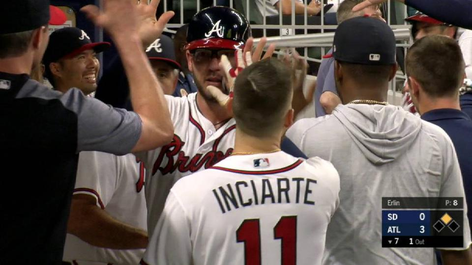 Inciarte's RBI groundout
