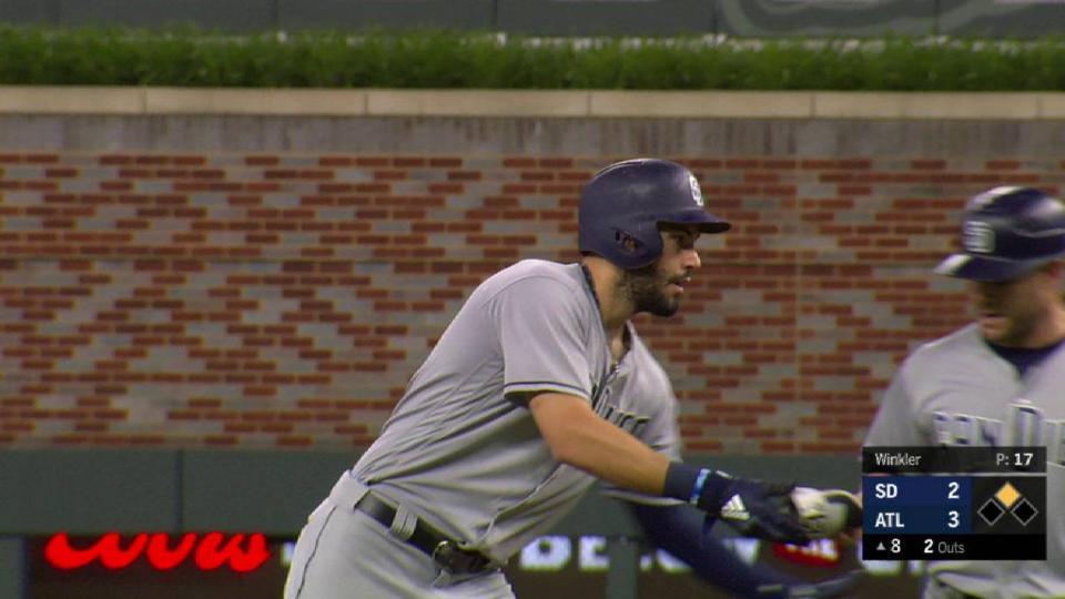 Hosmer's 2-run double