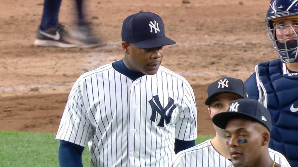 Chapman secures his 19th save
