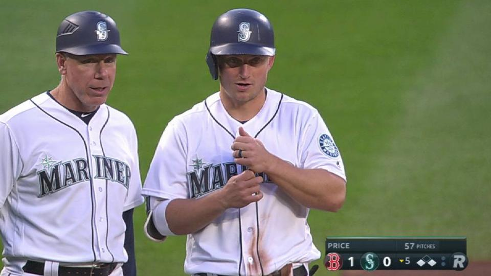 Seager's steal of third base