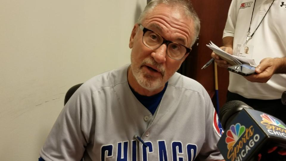 Maddon on offense in win