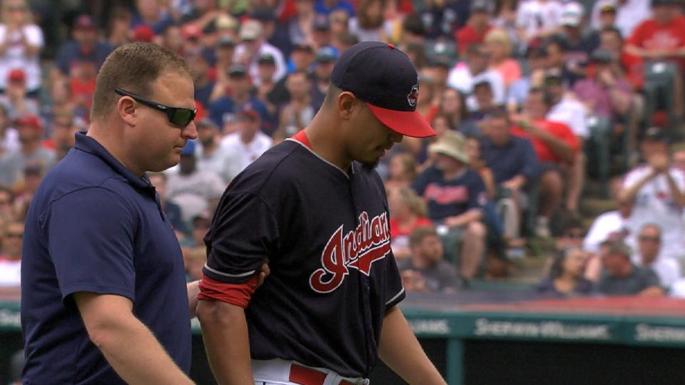 Carrasco heads to 10-day DL