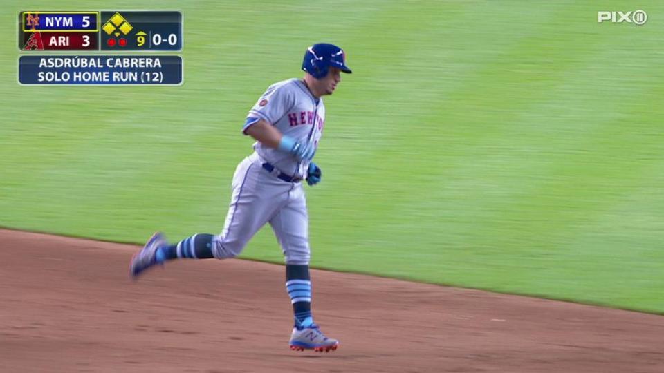 Cabrera's solo smash in the 9th