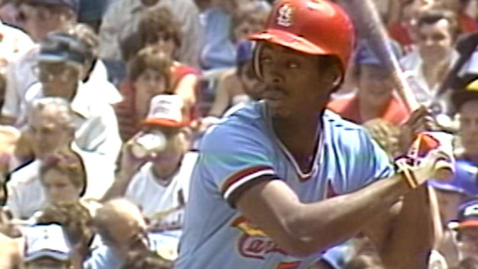 McGee hits for the cycle in 1984