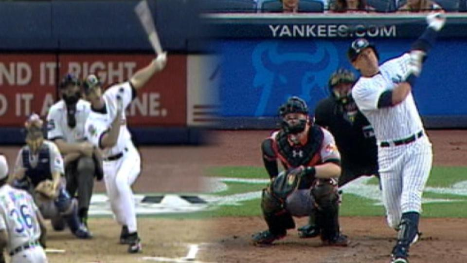First & Last: A-Rod's homers