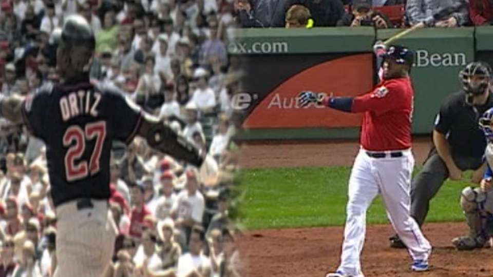 First & Last: Ortiz home runs