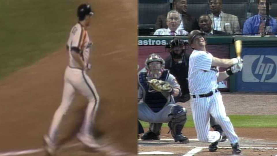 First & Last: Biggio home runs