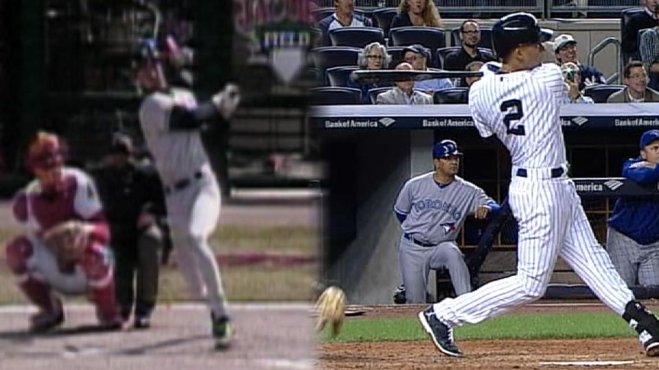 First & Last: Jeter home runs