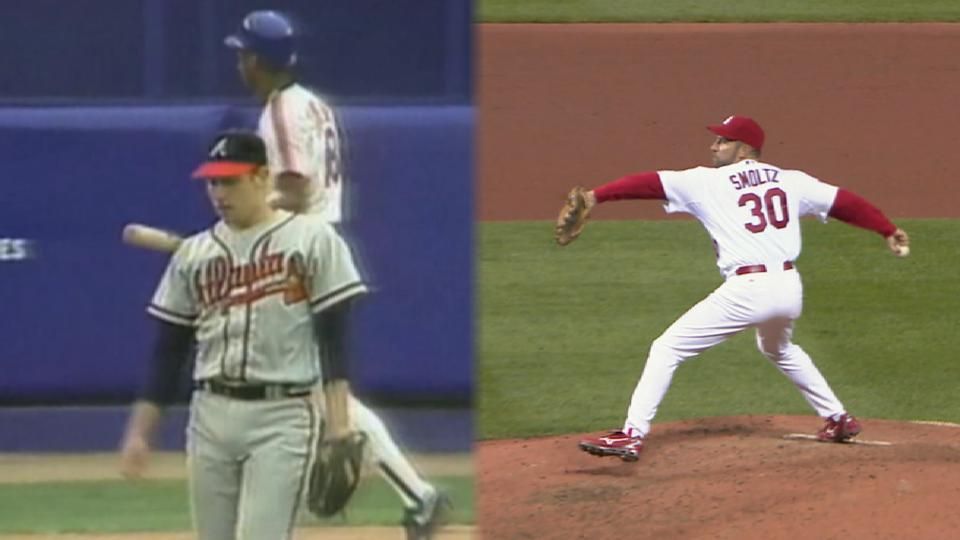 First & Last: Smoltz strikeouts