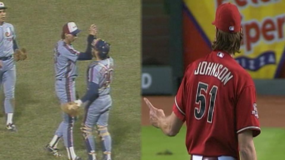 First & Last: Randy Johnson CGs