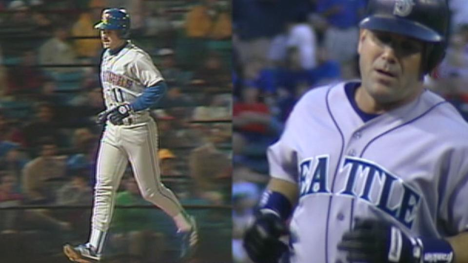 First & Last: Edgar Martinez HRs