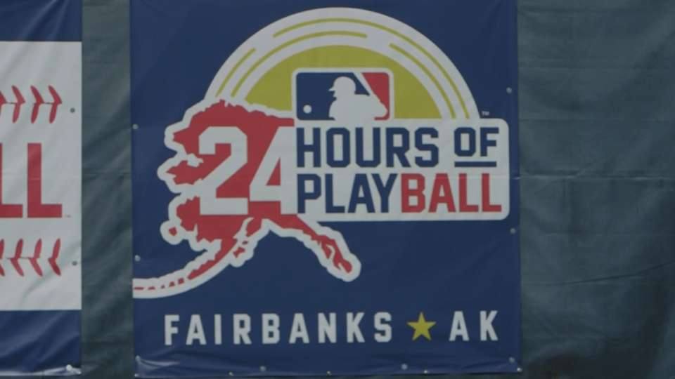 Play Ball at Midnight Sun Game