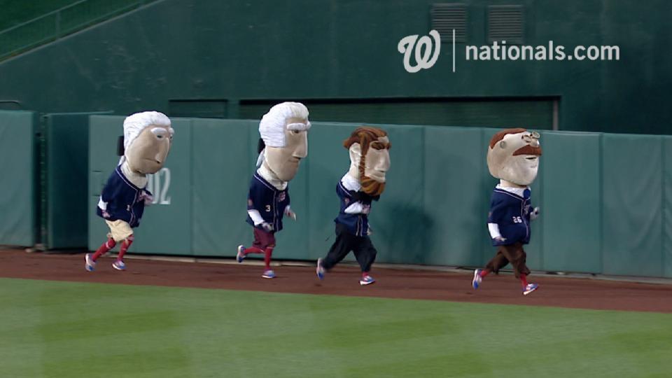 June 22 Presidents Race