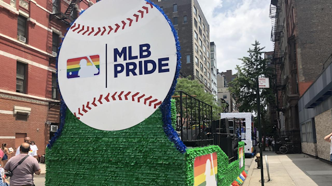 MLB takes part in Pride March for first time   MLB.com